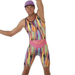 1980s Mr Energizer Fancy Dress Costume