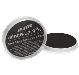 Smiffys Make Up Fancy Dress Face Paint   - Black