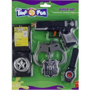 Cop Fancy Dress Gun Set
