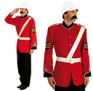 Boer War Soldier Fancy Dress Costume