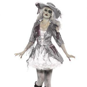 Ladies Ghost Ship Pirates Treasure Costume