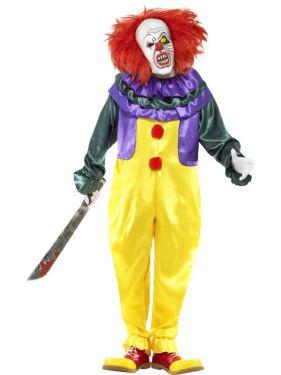 Halloween Classic Horror Clown Costume