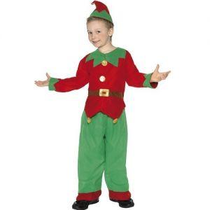 Christmas Fancy Dress - Childrens Elf Costume