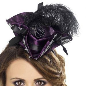Ladies Mini Marauding Pirate Hat on Band