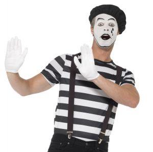 Mens Gentleman Mime Costume Set
