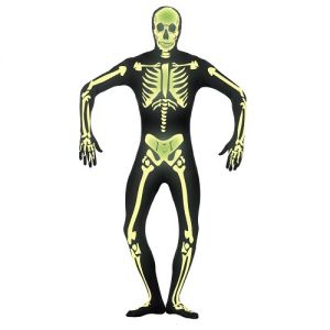 Glow in the Dark Second Skin Full Body Suit