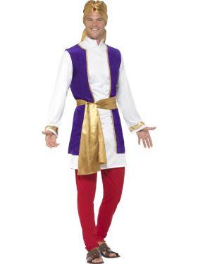 Mens Arabian Prince Fancy Dress Costume