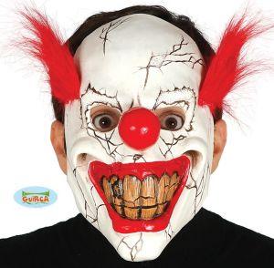 Horror Clown with Hair