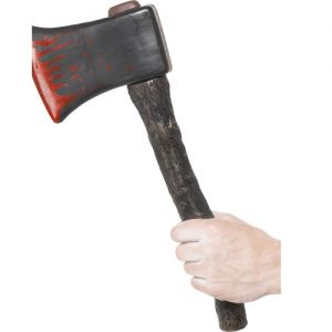 Plastic Axe with Blood