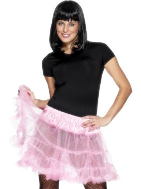 Ladies 80s Petticoat Tutu - Pink
