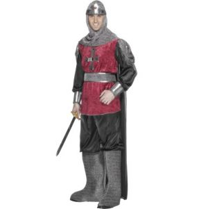 Mens Medieval Knight Costume - M & L