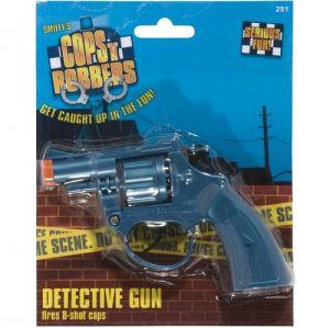 Police Fancy Dress Detective Gun