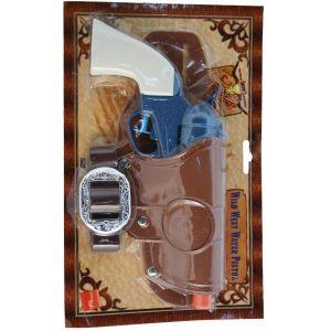 Cowboy Water Pistol Revolver & Holster Set