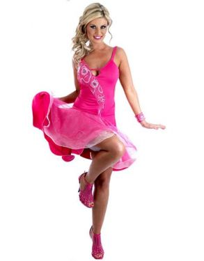 Strictly Anton & Erin Salsa Dress - Ballroom Fancy Dress