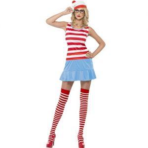 Where's Wally Wenda Cutie Costume