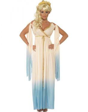 Ladies Greek Princess Costume - M, L & XL
