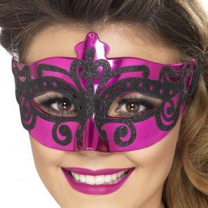Masquerade Ball Venetian Pink Mask