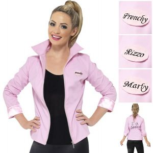 Deluxe Grease 50s Pink Lady Jacket - S, M & L