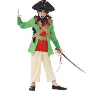 Childrens Horrible Histories Blackbeard Pirate Costume