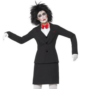 Officially Licensed Ladies Jigsaw Saw Puppet Halloween Costume