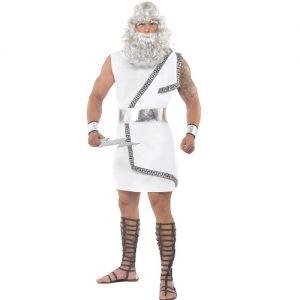 "Greek God Zeus Fancy Dress Costume - M 38-40"" Chest"