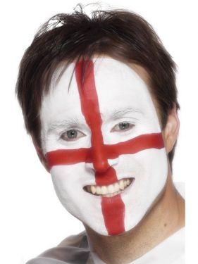 England St George Make Up Face Paint
