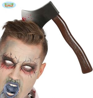 Halloween Axe in the Head