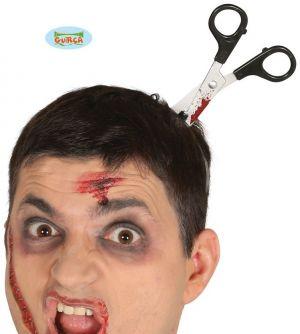 Halloween Scissors in the Head