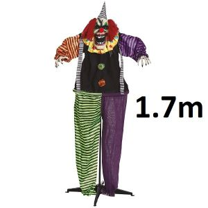 Halloween Party Horror Clown Stand Decoration 170cm
