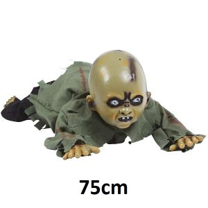 Crawling Zombie Baby Prop Decoration