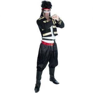 Mens 80s New Romantic Ant Fancy Dress Costume