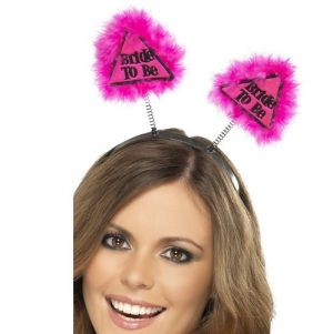Hen Party Bride to Be Head Boppers - Pink