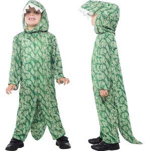 Childrens Smiffys Dinosaur Fancy Dress Costume