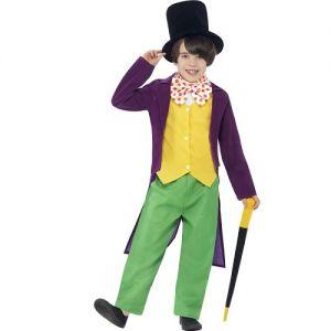 Childrens Roald Dahl Willy Wonka Costume
