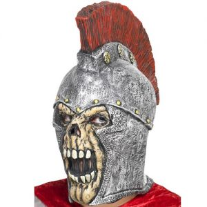 Halloween Roman Soldier Skeleton Head Mask