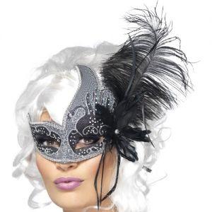 Halloween Dark Angel Masquerade Ball Mask