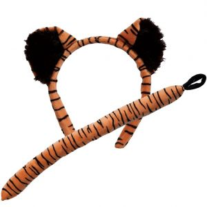 Tiger Set - Ears on band & Tail