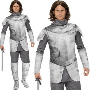 Mens Deluxe Medieval Knight Costume