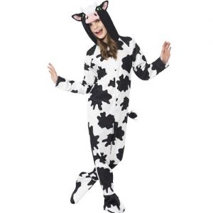 Childrens Cow Onesie Fancy Dress Costume