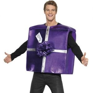 Adult Christmas Present Gift Costume - One Size