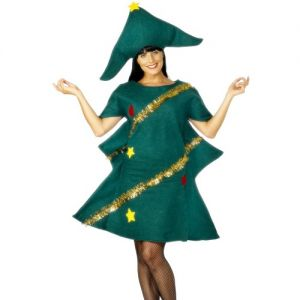 Christmas Fancy Dress - Christmas Tree - Medium