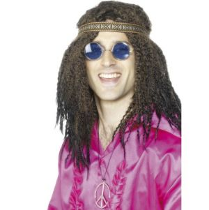 60s 70s Fancy Dress Hippy  Kit