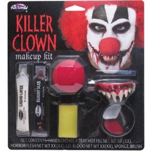 Halloween Killer Clown Make Up Kit