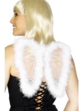 Mini Fancy Dress Angel Fairy Glitter Wings