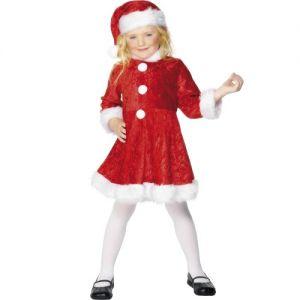 Christmas Fancy Dress - Childrens Miss Santa Costume