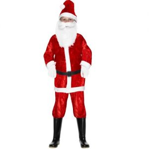 Christmas Fancy Dress - Childrens Mini Santa Costume