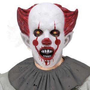 Killer Clown Head Mask