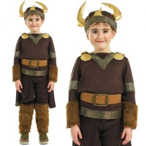 Childrens Viking Boy Fancy Dress Costume