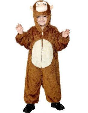 Childrens Animal Fancy Dress - Monkey Costume - Age 7-9
