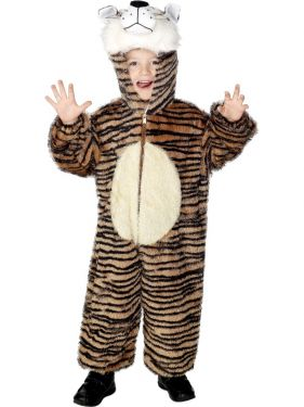 Childrens Animal Fancy Dress - Tiger Costume - Age 7-9 Years